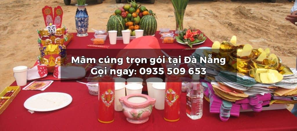Dịch vụ Đồ cúng trọn gói – Mâm cúng trọn gói tại Đà Nẵng